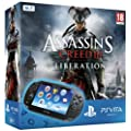Console Playstation Vita Wifi + Jeu � t�l�charger Assassin's Creed III : Liberation (PS Vita) + Carte M�moire 4 Go