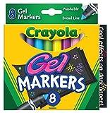 Crayola Gel Washable Markers -8/Pkg