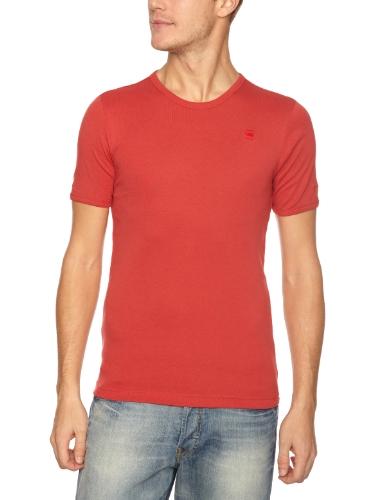 G-Star Base R Short Sleeve 2P Plain Men's T-Shirt Oil Red XX Large