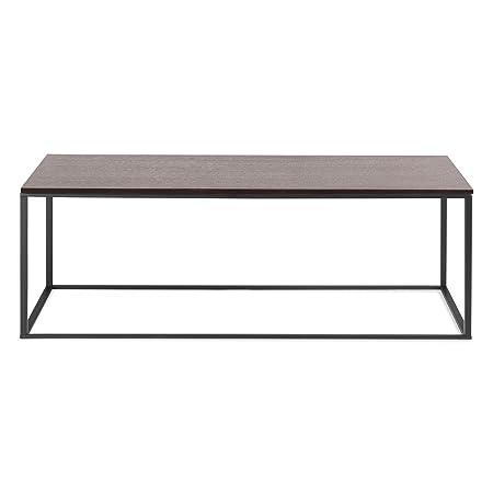Blu Dot Minimalista Coffee Table, Black / Graphite on Oak