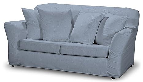 Dekoria Fire Retardant IKEA tomelilla Housse de Canapé 2Places–Bleu clair en tissu chenille