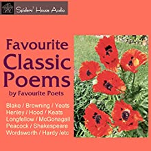 Favourite Classic Poems Audiobook by Robert Browning, Rudyard Kipling, Thomas Hardy Narrated by Roy Macready