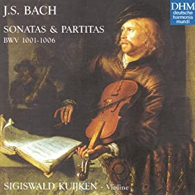 Partita for Solo Violin No. 3 in E major, BWV 1006: Bour�e