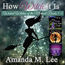 How Witch It Is: Wicked Witches of the Midwest, Books 1-3 (       UNABRIDGED) by Amanda M. Lee Narrated by  Aris