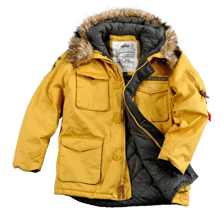 "Alpha Ind. Jacke ""Mountain Parka"" – yellow online bestellen"