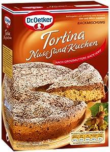 Dr. Oetker Tortina Nuss Sand Kuchen, 3er Pack (3 x 580 g): Amazon.de ...