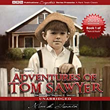 Adventures of Tom Sawyer: Tom Sawyer & Huckleberry Finn Series, Book 1 (       UNABRIDGED) by Mark Twain Narrated by Stephen L. Vernon