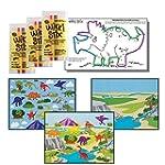 Dinosaur Stickers & Wikki Stix Party...