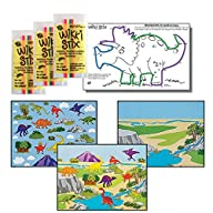 Dinosaur Stickers & Wikki Stix Party…