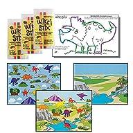 Dinosaur Stickers & Wikki Stix Party…