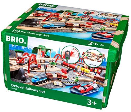 브리오 33052 기차놀이 세트 Brio 33052 Deluxe Railway Set