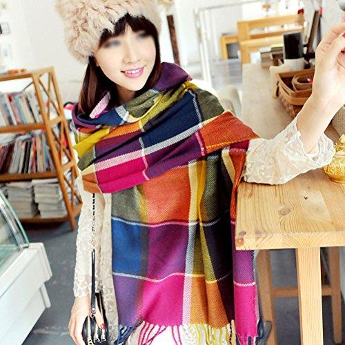Nasis Oversized Lightweight Elegant Scarf Wrap Shawl Scarves Wj0023