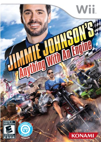 Jimmie Johnson's Anything With An Engine - Nintendo Wii (Mario Kart Wii Custom Tracks compare prices)