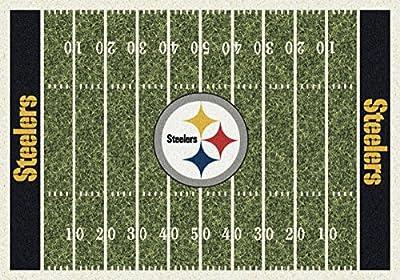 Milliken Pittsburgh Steelers NFL Team Fade Area Rug