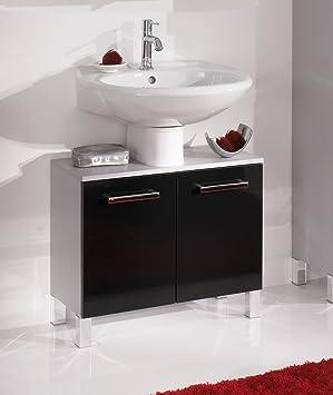 Meuble de lavabo mendo mendo couleur de la fa ade for Lavabo cuisine noir