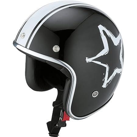 IXS - Casque - HX89 STAR - Couleur : Noir/Blanc - Taille : XL