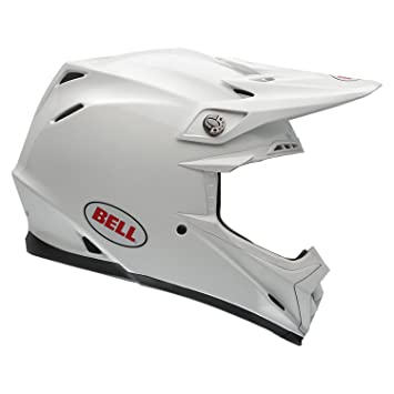 Bell Casques 7060885 MX 2015 Moto-9R Adult Casque, Solid Blanc, XS