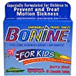 Bonine for Kids Motion Sickness Tablets, Berry Berry