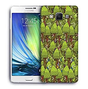 Snoogg Trees Digital Abstract Designer Protective Phone Back Case Cover For Samsung Galaxy ON5