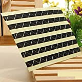 102Pcs Scrapbook Photo Album Corners Self Adhesive Album (Colour: Black)