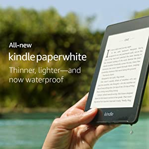 All-new Kindle Paperwhite – Now Waterproof with 2x the Storage – Includes Special Offers (Color: BLACK)