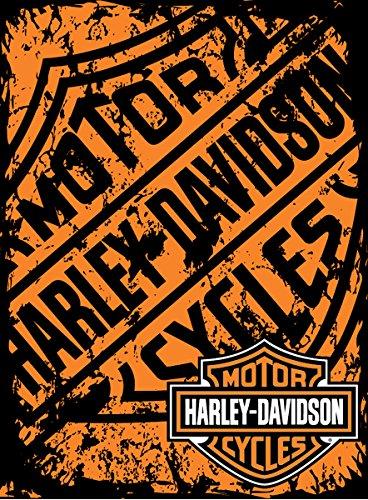 Harley Davidson Refinery Sealed Micro Raschel Throw