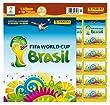 Panini 207503 - FIFA World Cup Brasil 2014, Starterset mit Sammelalbum, 10 T�ten und 5 Sticker