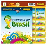 Toy - Panini 207503 - FIFA World Cup Brasil 2014, Starterset mit Sammelalbum, 10 T�ten und 5 Sticker