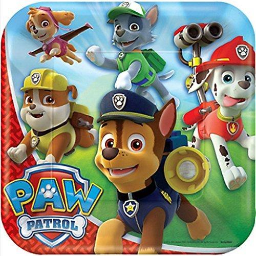 Paw Patrol Large Paper Plates (8ct) - 1