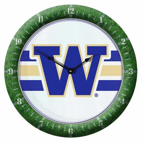 NCAA Washington Huskies Game Time Clock