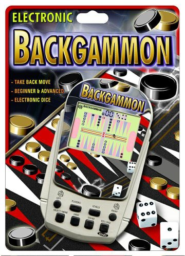 10 PC Backgammon Electronic Handheld Game Wholesale