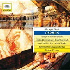 Bizet: Carmen - Sung In German - Seguidilla - Drau�en am Wall
