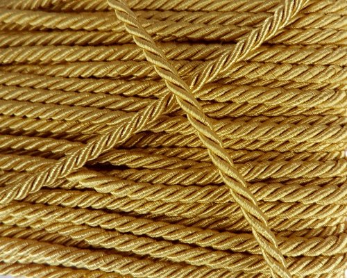 Why Should You Buy Gold Shiny Twist Cord Choker Thread Twine String Rope Piping Supplies Chain 3 Yar...