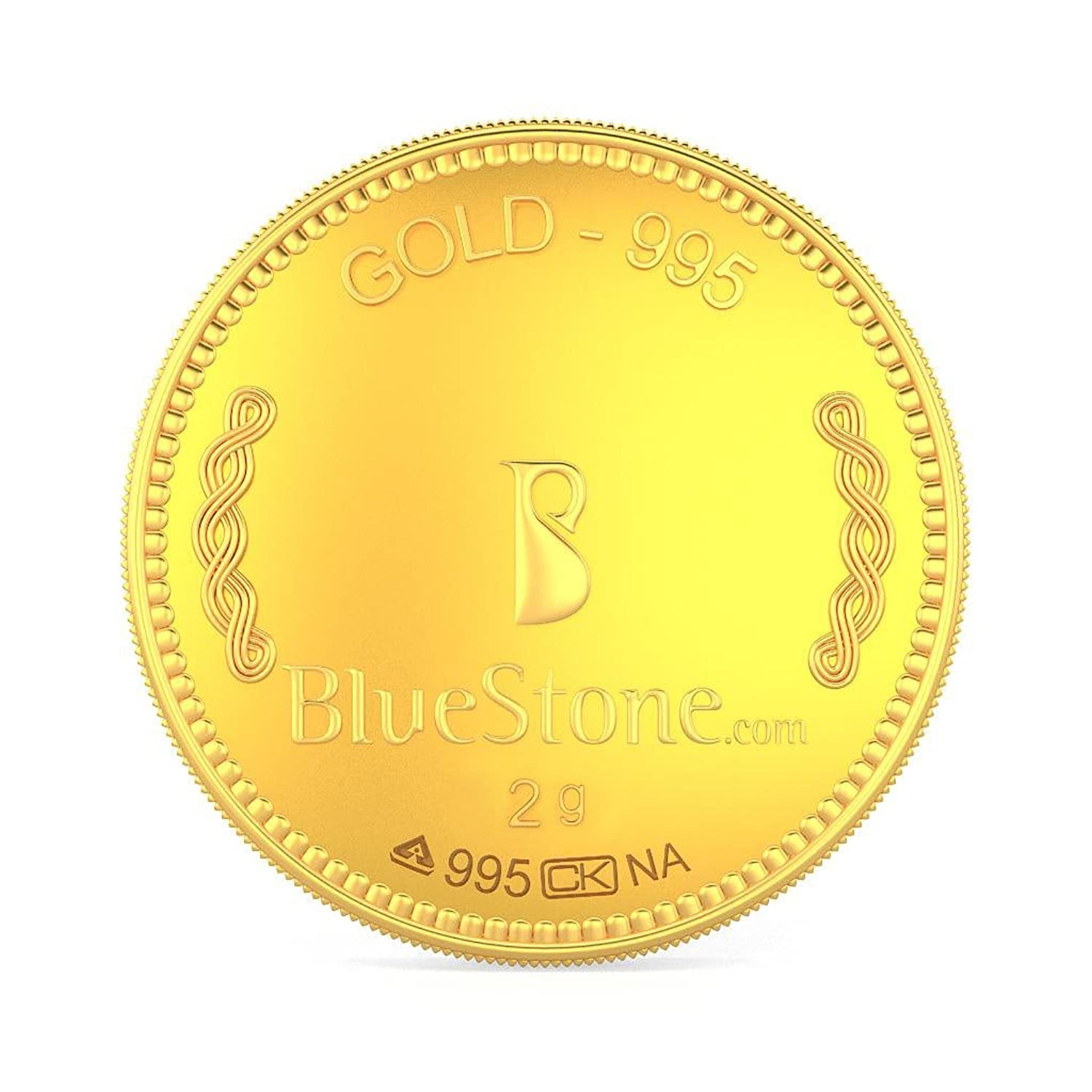 BlueStone 24 (995) K 2 g Gold Coin