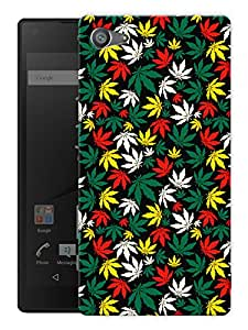"""Humor Gang Marijane Colorful Printed Designer Mobile Back Cover For """"Sony Xperia Z5 Mini - Compact"""" (3D, Matte, Premium Quality Snap On Case)"""