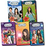 Disney Disney Wizards of Waverly Place Collection 5 Books Set Selena Gomez TV Series (It's All Relatives!, Haywire, Spellbound, Top of The Class, All Mixed Up)