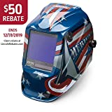 Lincoln Electric Viking 3350 All American, Auto Darkening Welding Helmet with 4C Lens Technology, K3175-4 (Color: All American)