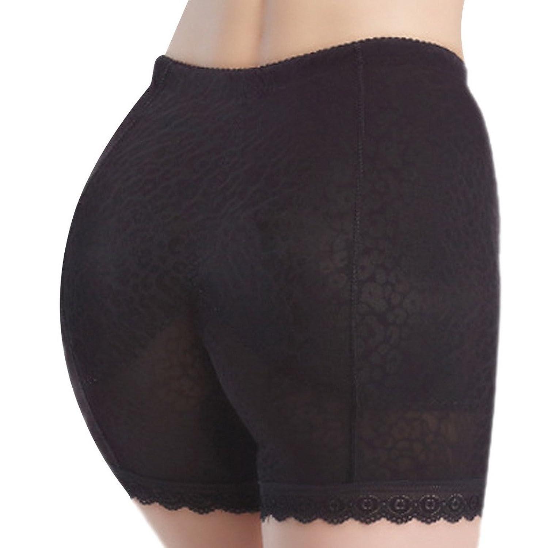 DEHANG Damen Gepolstert Slip Hüfte Figurformender Schlüpfer Miederslip nahtlos Unterhose Bauch Shapewear Größe