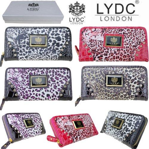 Exoticglitter Women LYDC Designer Leopard Print Snake Purse Clutch Bag L327SP