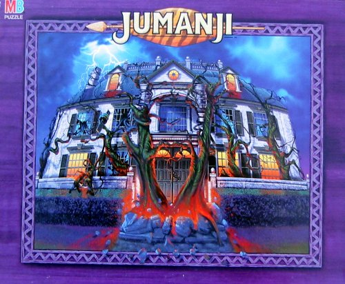 Picture of Hasbro Jumanji 100 Piece Puzzle - Mansion (B002O5RMMS) (Jigsaw Puzzles)