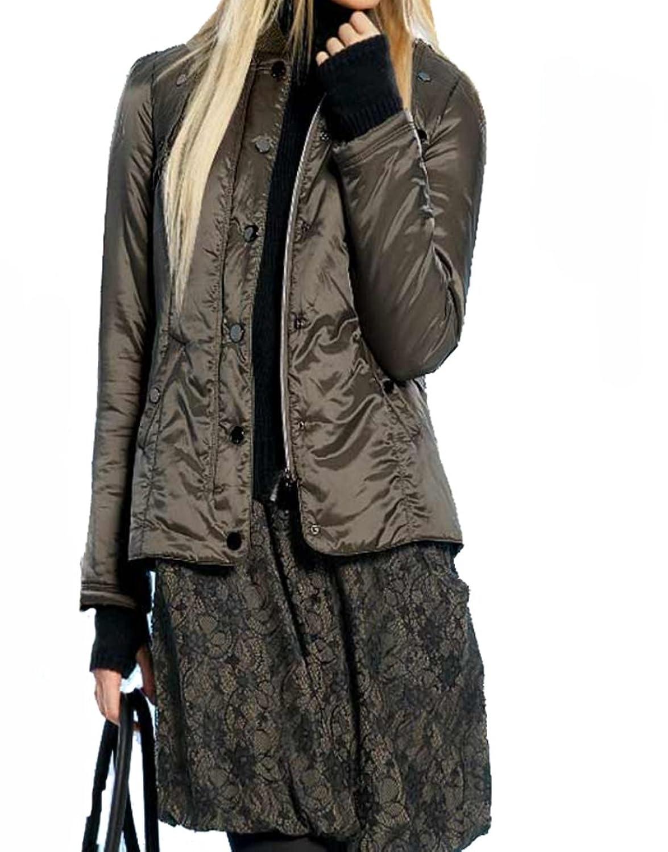 APART Damen-Jacke Two-in-One Outdoor-Steppjacke Grün
