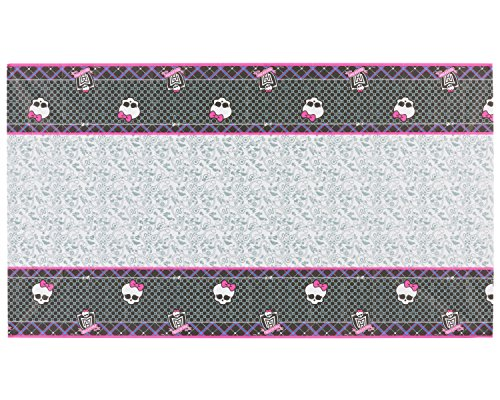 "American Greetings Monster High Plastic Table Cover (Party Supplies), 54 x 96"" - 1"