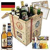 Bierspezialitäten aus Deutschland in der Geschenkbox (inkl. Geschenkkarten + Bierbewertungsbogen)
