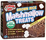Glenny's Brown Rice Marshmallow Treats, Chocolate, 5-Count Boxes (Pack of 6)