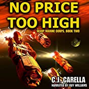 No Price Too High: Warp Marine Corps, Book 2 | C.J. Carella
