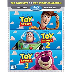 Toy Story 3d Trilogy [Blu-ray]