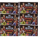 Topps Match Attax EXTRA : 6er Booster-Packs Bundesliga 2012/2013 mit je 5 Sammel-Karten