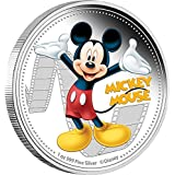 2014 NU disney MICKEY MOUSE Mickey And Friends Disney 1 Oz Silver Proof Coin 2$ Niue 2014 Dollar Perfect Uncirculated...