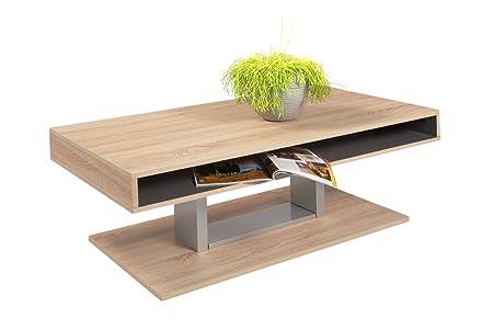 HL Design 01-01-156.2 Mattia Table Basse Panneaux de Particules Alvéolaires