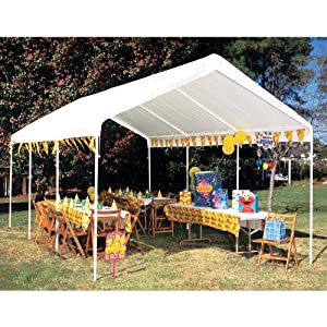 Amazon.com: King Canopy 10 x 20 ft. DrawString Replacement Cover ...
